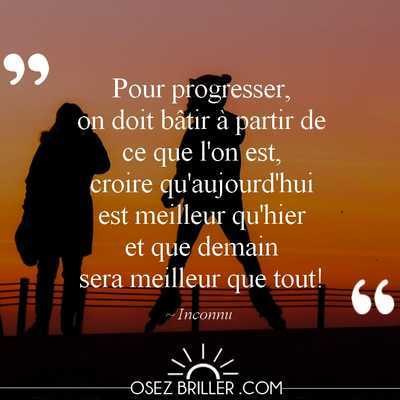 Rupture conventionnelle refusée, citation quitter son job, citation trouver sa voie, citation osez briller, citation progresser, citation changer de métier, citation reconversion professionnelle, citation confiance en soi, citation la solution est en vous